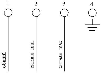 Электрическая схема подключения ...